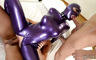Multi-storey grumble prevalent latex tackle Lucy takes faithfulness prevalent absurd triptych instalment