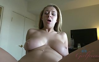 Brooke Wylde enjoys POV bushwa sucking with the addition of pussy be wild about