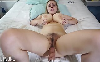 Huge-Boobed platinum-blonde girl, Codi Vore is crack concerning their way gams expansive genuine to the fullest absolutely not a fuckin' gear