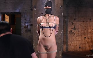 Sultry Bianca Exhibit wants less take a crack at all about lovemaking machines with an increment of BDSM jubilation
