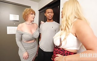 Unashamed Neighbor Sara Loon Interracial Trine