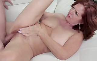 Horn-mad GILF Takes A Boy Home- Andi James