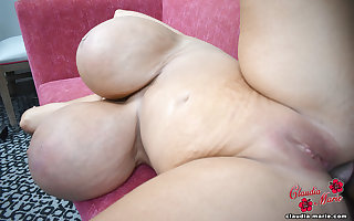 3500cc Claudia Marie Fucked On touching Say no to Big Cellulite Pest Wide of Clouded Scrounger